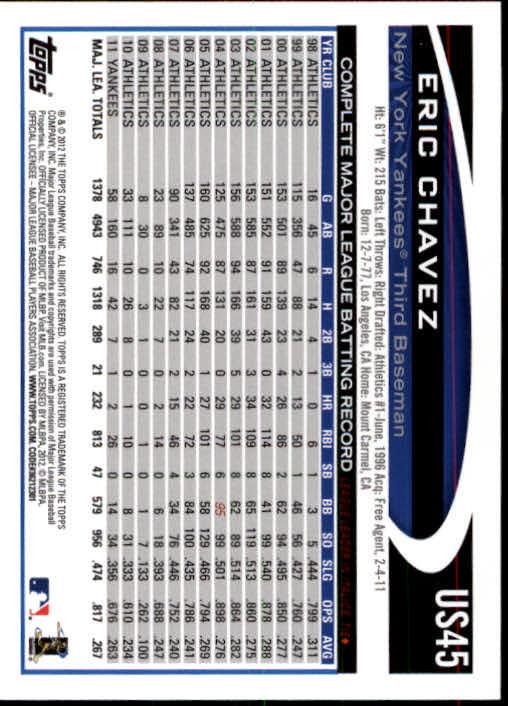 2012-Topps-Actualizacion-Beisbol-US1-US230-Usted-Recoger miniatura 69