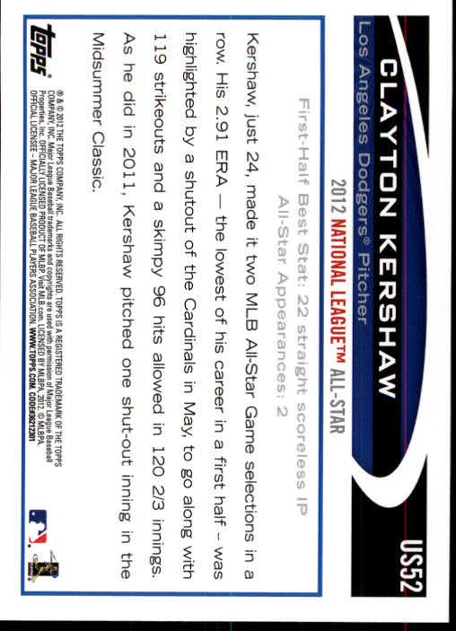 2012-Topps-Actualizacion-Beisbol-US1-US230-Usted-Recoger miniatura 83