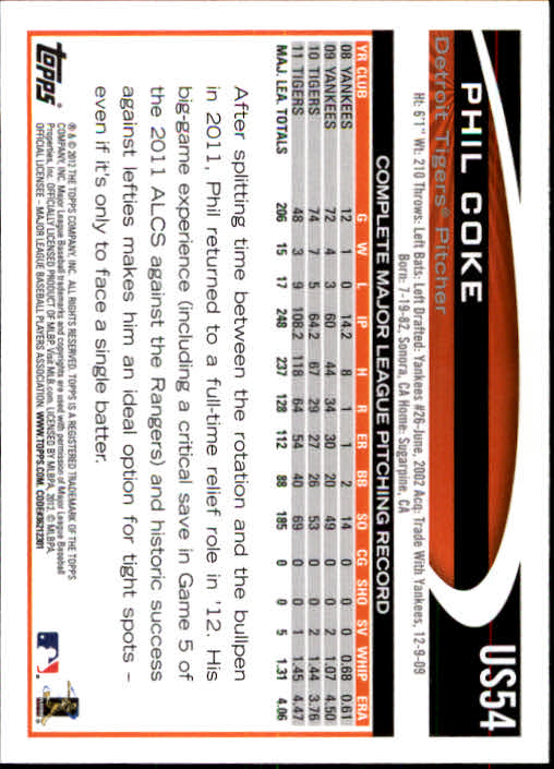 2012-Topps-Actualizacion-Beisbol-US1-US230-Usted-Recoger miniatura 85