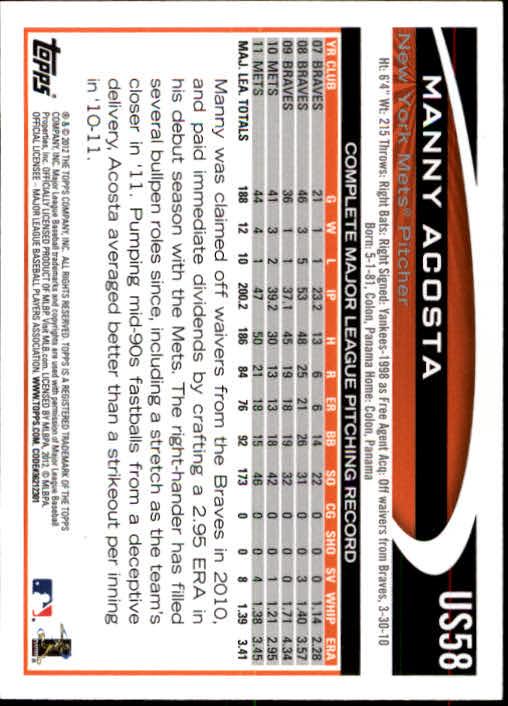 2012-Topps-Actualizacion-Beisbol-US1-US230-Usted-Recoger miniatura 91