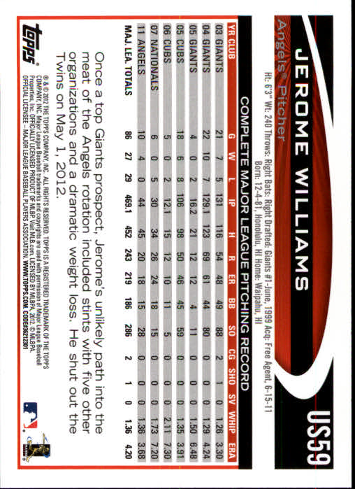 2012-Topps-Actualizacion-Beisbol-US1-US230-Usted-Recoger miniatura 93
