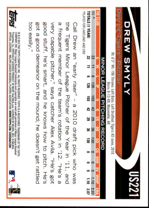 2012-Topps-Actualizacion-Beisbol-US1-US230-Usted-Recoger miniatura 308