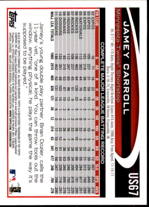 2012-Topps-Actualizacion-Beisbol-US1-US230-Usted-Recoger miniatura 103