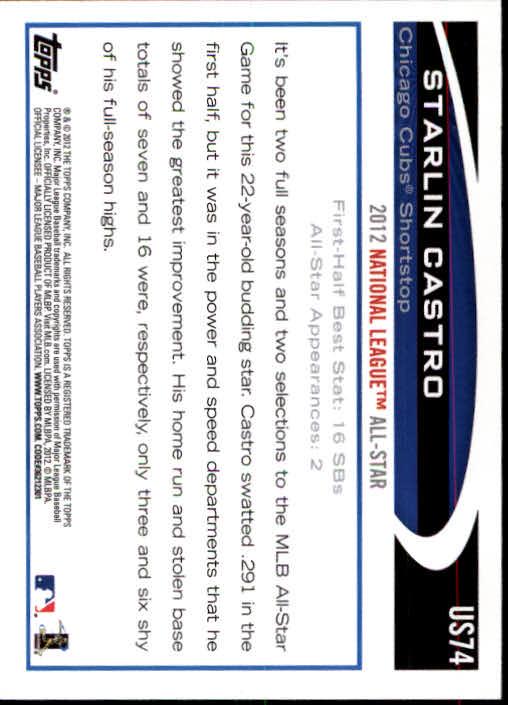 2012-Topps-Actualizacion-Beisbol-US1-US230-Usted-Recoger miniatura 111