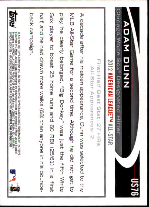 2012-Topps-Actualizacion-Beisbol-US1-US230-Usted-Recoger miniatura 115