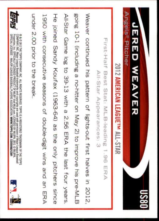 2012-Topps-Actualizacion-Beisbol-US1-US230-Usted-Recoger miniatura 121