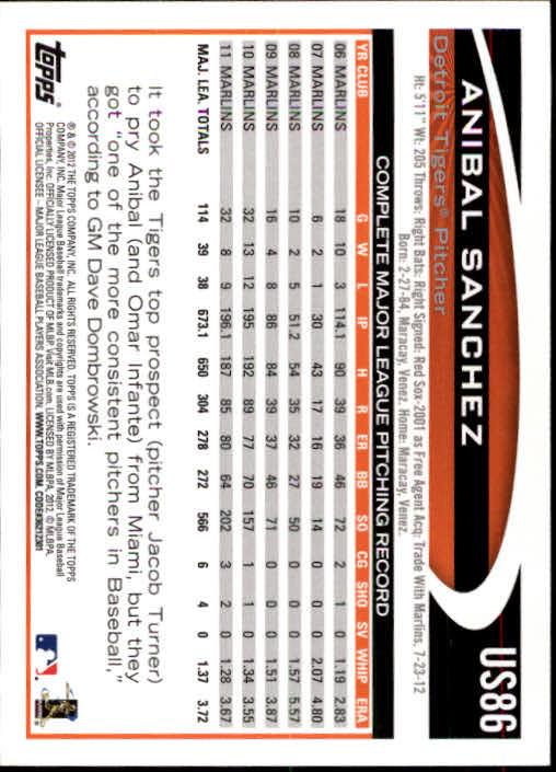 2012-Topps-Actualizacion-Beisbol-US1-US230-Usted-Recoger miniatura 127