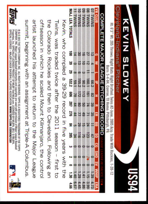2012-Topps-Actualizacion-Beisbol-US1-US230-Usted-Recoger miniatura 139
