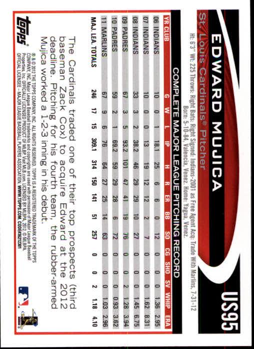 2012-Topps-Actualizacion-Beisbol-US1-US230-Usted-Recoger miniatura 141
