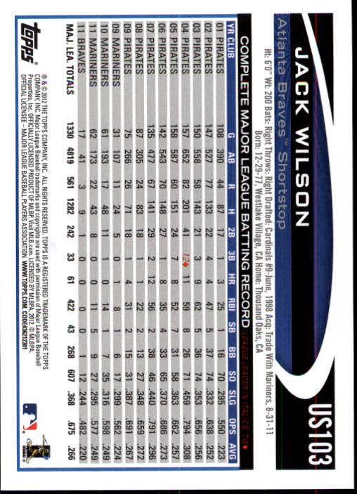 2012-Topps-Actualizacion-Beisbol-US1-US230-Usted-Recoger miniatura 153