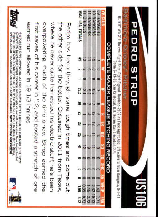 2012-Topps-Actualizacion-Beisbol-US1-US230-Usted-Recoger miniatura 157