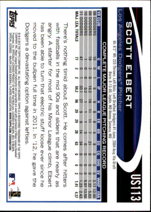 2012-Topps-Actualizacion-Beisbol-US1-US230-Usted-Recoger miniatura 159