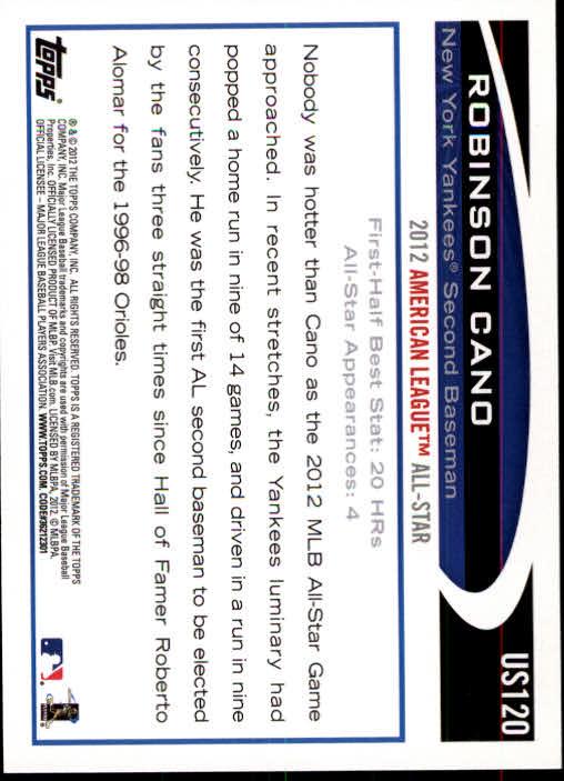 2012-Topps-Actualizacion-Beisbol-US1-US230-Usted-Recoger miniatura 169