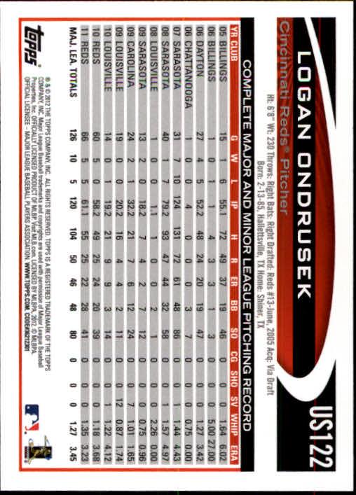 2012-Topps-Actualizacion-Beisbol-US1-US230-Usted-Recoger miniatura 173