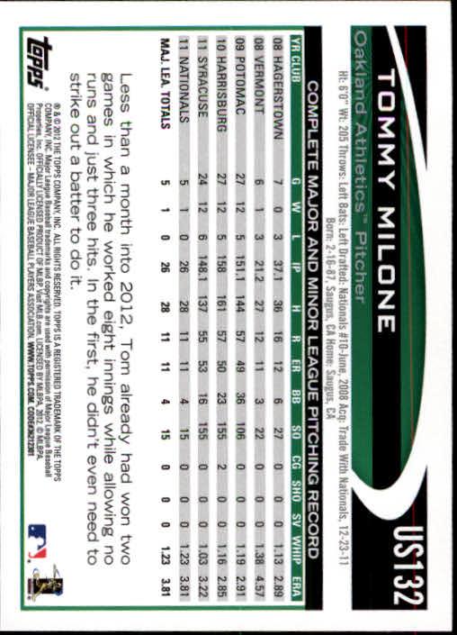 2012-Topps-Actualizacion-Beisbol-US1-US230-Usted-Recoger miniatura 185