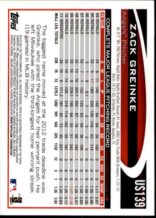 2012-Topps-Actualizacion-Beisbol-US1-US230-Usted-Recoger miniatura 191