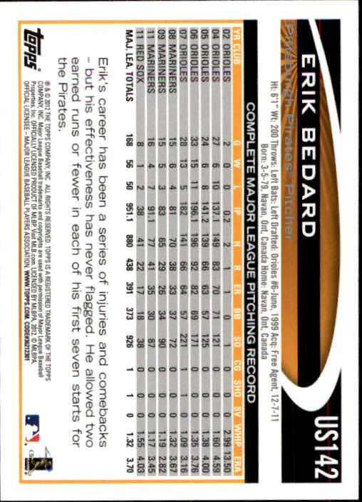 2012-Topps-Actualizacion-Beisbol-US1-US230-Usted-Recoger miniatura 197