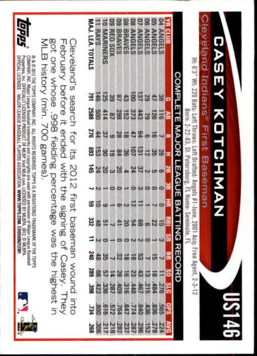 2012-Topps-Actualizacion-Beisbol-US1-US230-Usted-Recoger miniatura 202