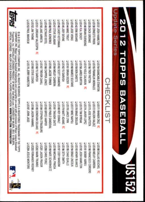 2012-Topps-Actualizacion-Beisbol-US1-US230-Usted-Recoger miniatura 208