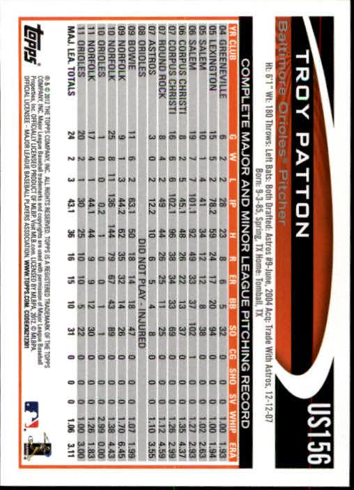 2012-Topps-Actualizacion-Beisbol-US1-US230-Usted-Recoger miniatura 216