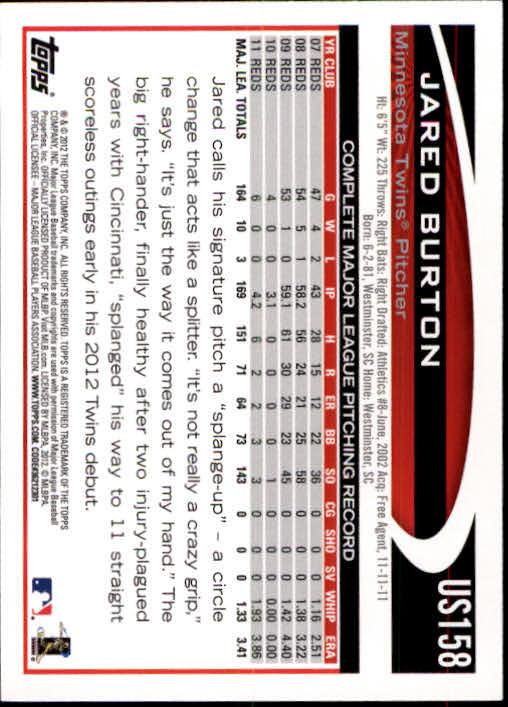 2012-Topps-Actualizacion-Beisbol-US1-US230-Usted-Recoger miniatura 218