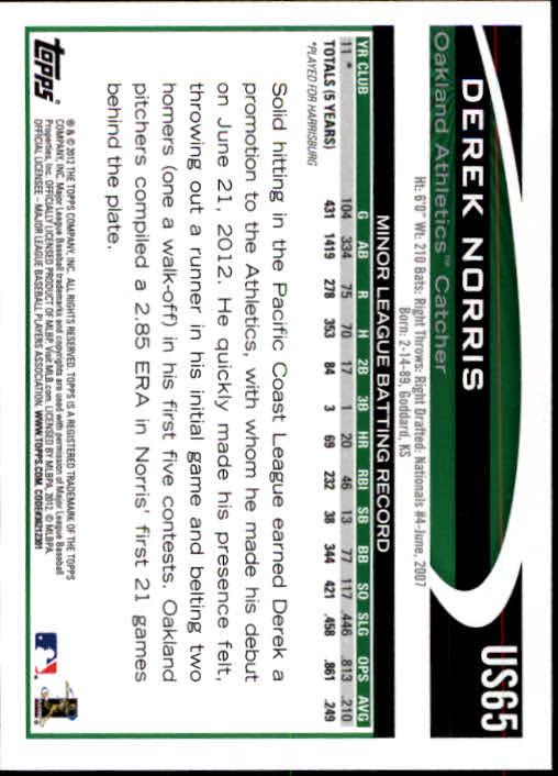 2012-Topps-Actualizacion-Beisbol-US1-US230-Usted-Recoger miniatura 101