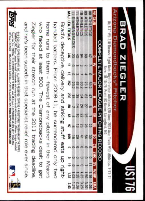 2012-Topps-Actualizacion-Beisbol-US1-US230-Usted-Recoger miniatura 236