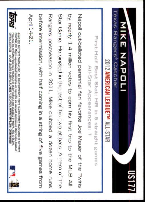 2012-Topps-Actualizacion-Beisbol-US1-US230-Usted-Recoger miniatura 238