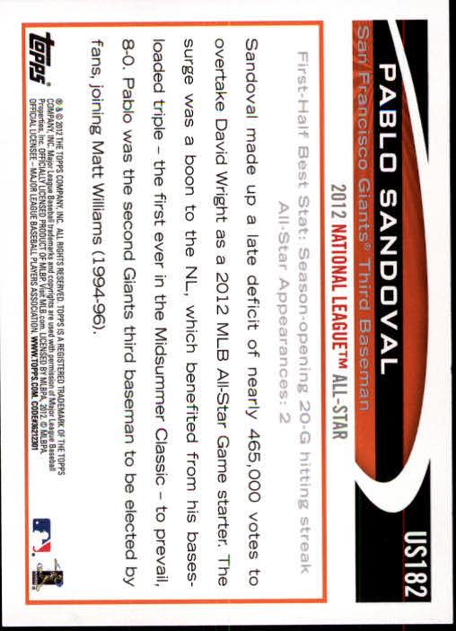2012-Topps-Actualizacion-Beisbol-US1-US230-Usted-Recoger miniatura 246