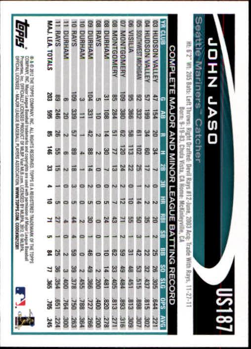 2012-Topps-Actualizacion-Beisbol-US1-US230-Usted-Recoger miniatura 250