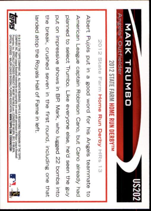 2012-Topps-Actualizacion-Beisbol-US1-US230-Usted-Recoger miniatura 278