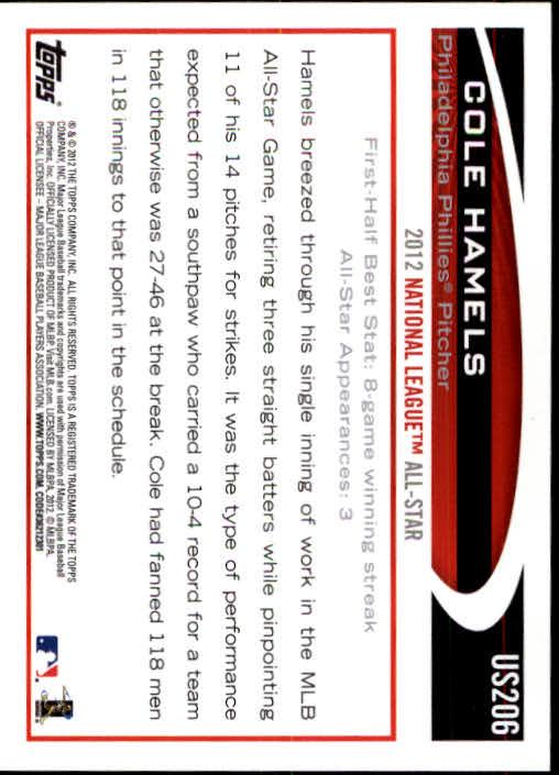 2012-Topps-Actualizacion-Beisbol-US1-US230-Usted-Recoger miniatura 286