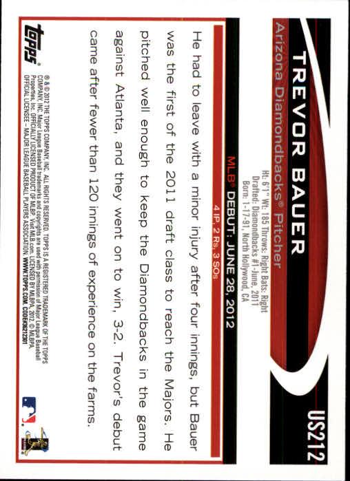 2012-Topps-Actualizacion-Beisbol-US1-US230-Usted-Recoger miniatura 294