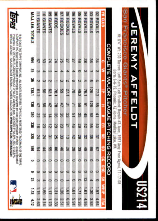 2012-Topps-Actualizacion-Beisbol-US1-US230-Usted-Recoger miniatura 296