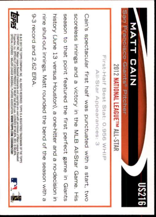2012-Topps-Actualizacion-Beisbol-US1-US230-Usted-Recoger miniatura 300
