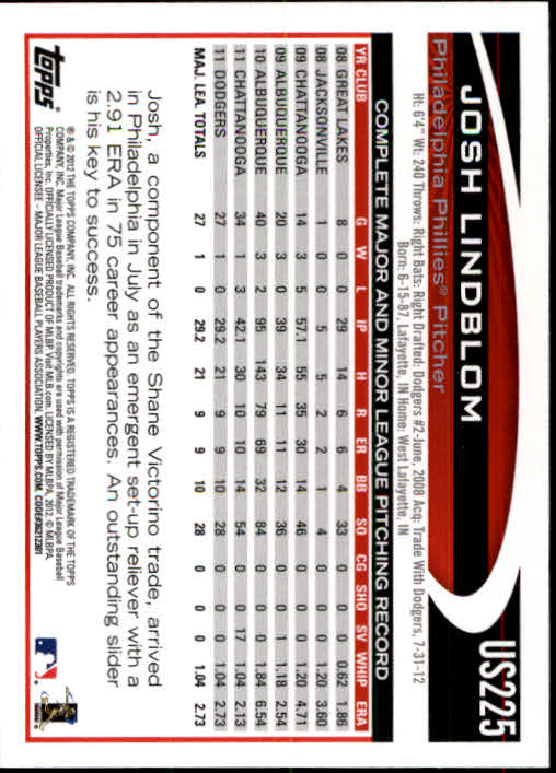 2012-Topps-Actualizacion-Beisbol-US1-US230-Usted-Recoger miniatura 312