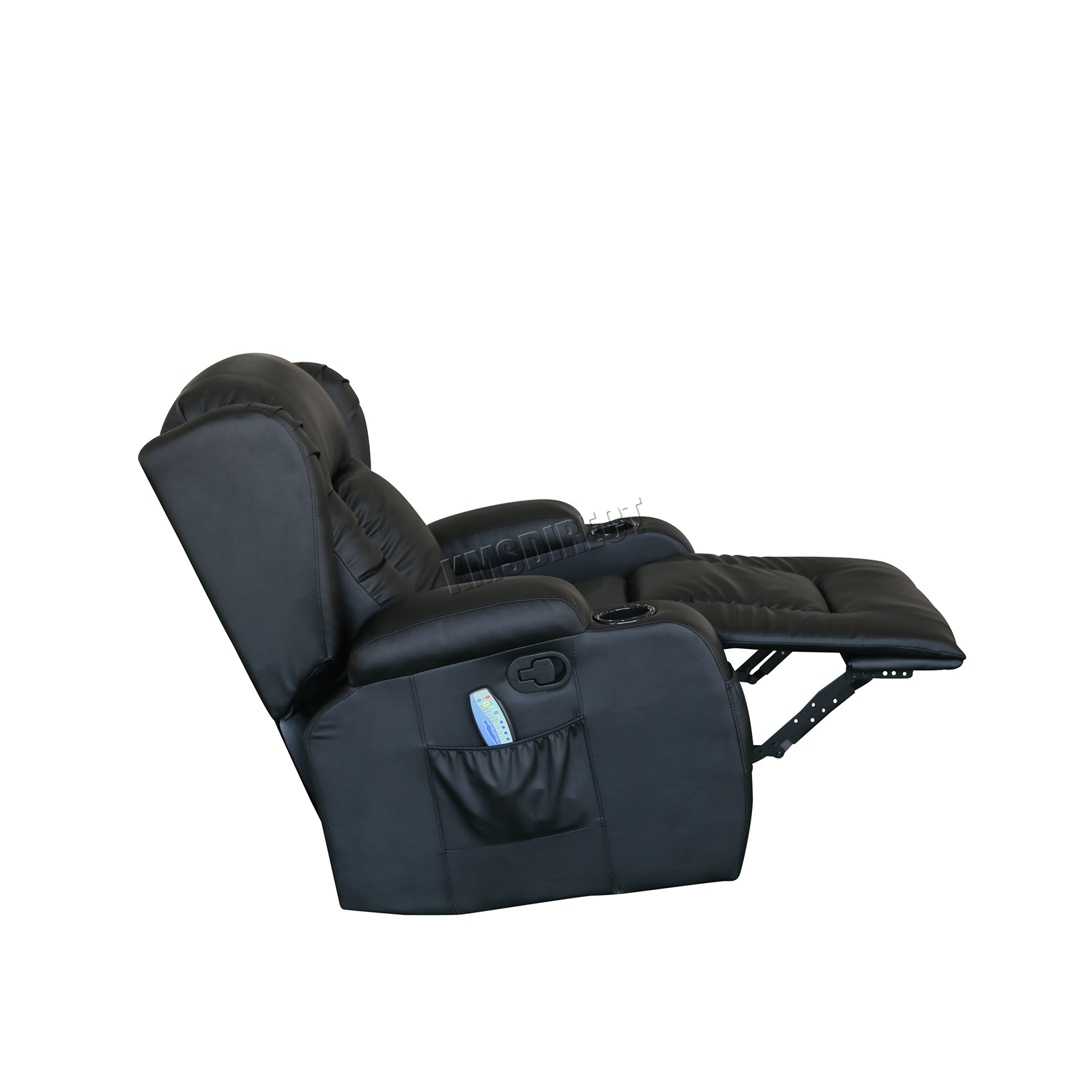 WESTWOOD-Leather-Recliner-Armchair-Swivel-Heated-chair-Massage-Gaming-Chair thumbnail 16