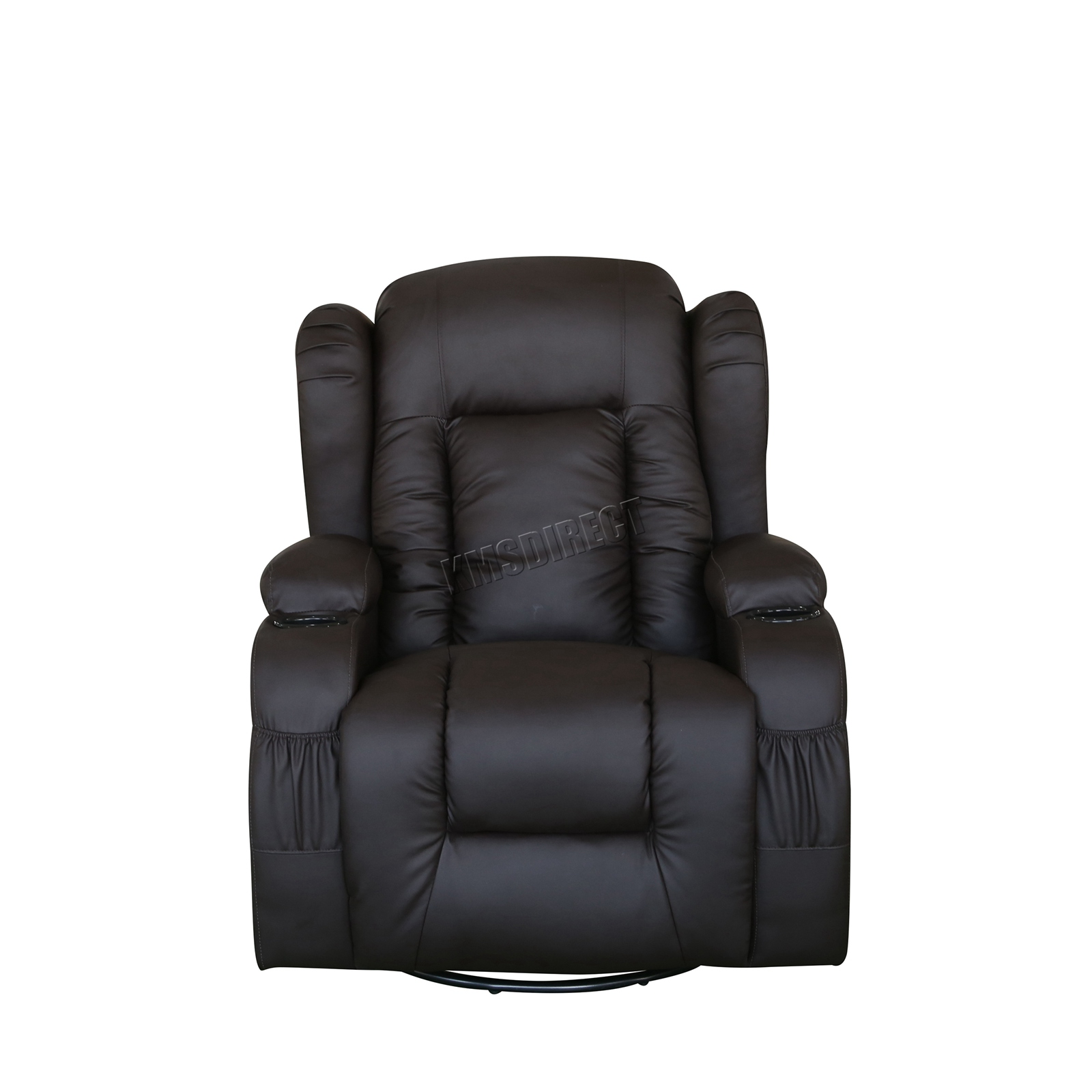 WESTWOOD-Leather-Recliner-Armchair-Swivel-Heated-chair-Massage-Gaming-Chair thumbnail 25