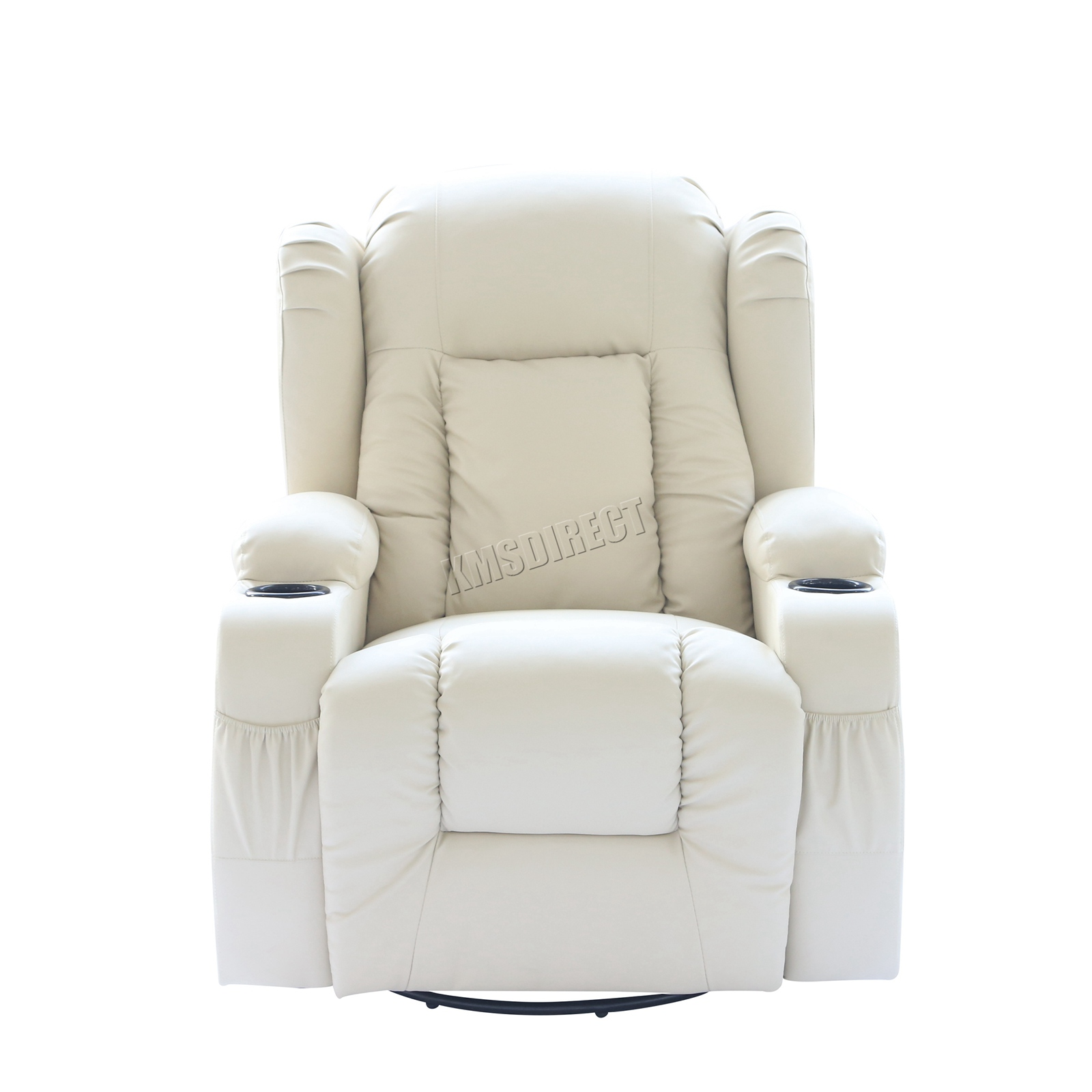 WESTWOOD-Leather-Recliner-Armchair-Swivel-Heated-chair-Massage-Gaming-Chair thumbnail 37