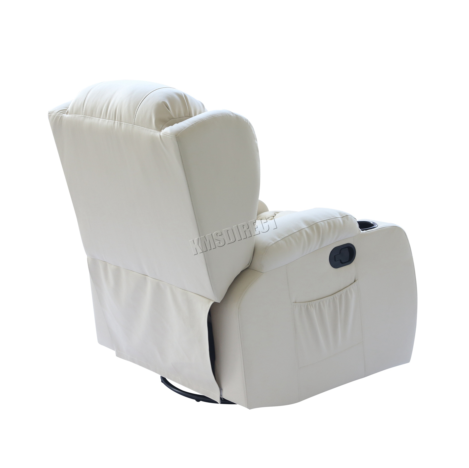WESTWOOD-Leather-Recliner-Armchair-Swivel-Heated-chair-Massage-Gaming-Chair thumbnail 39