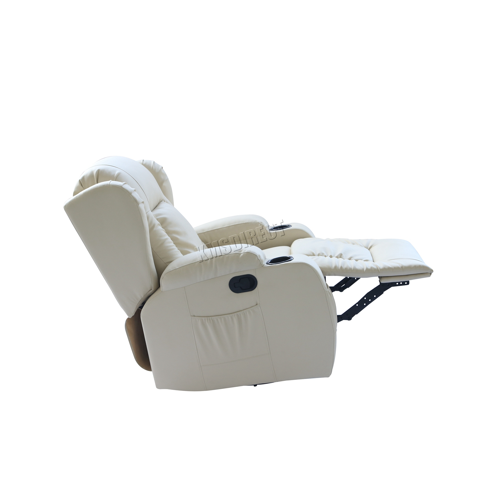 WESTWOOD-Leather-Recliner-Armchair-Swivel-Heated-chair-Massage-Gaming-Chair thumbnail 42