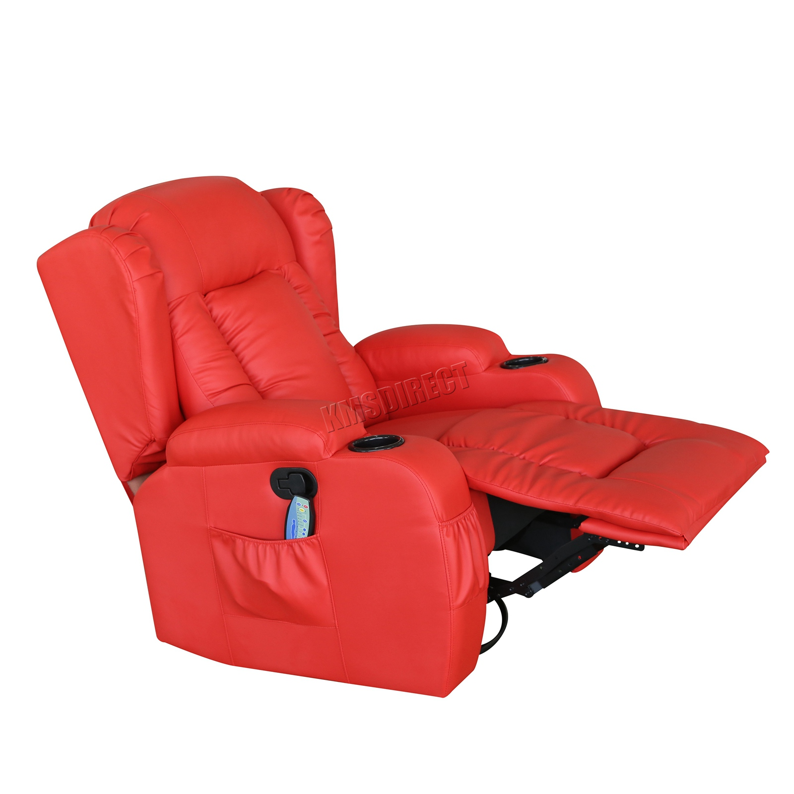 WESTWOOD-Leather-Recliner-Armchair-Swivel-Heated-chair-Massage-Gaming-Chair thumbnail 52