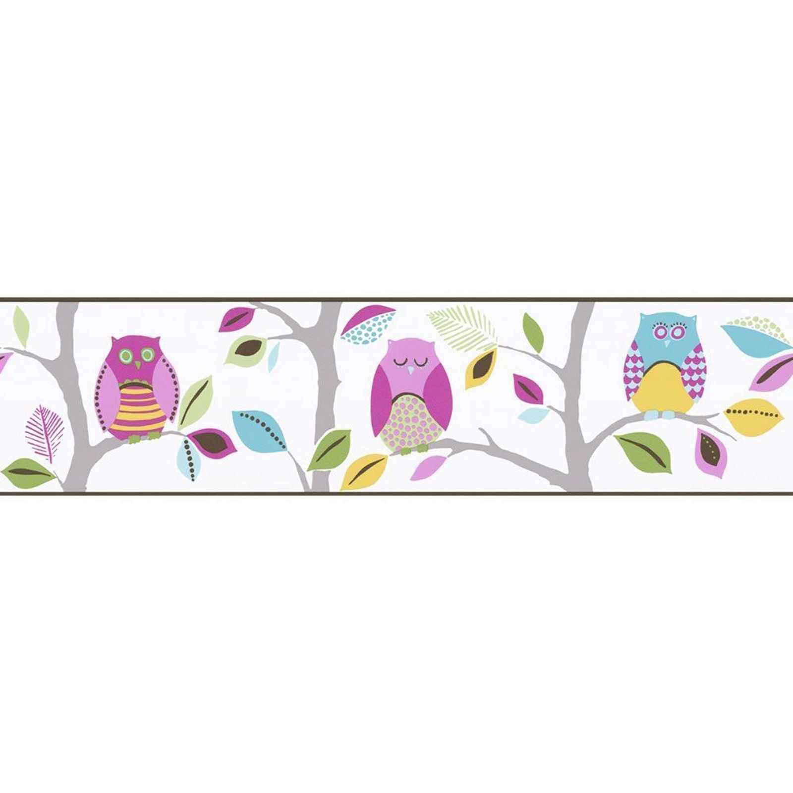 Ni as gen rico dormitorio cenefas papel pintado mariposa - Cenefas de papel pintado ...
