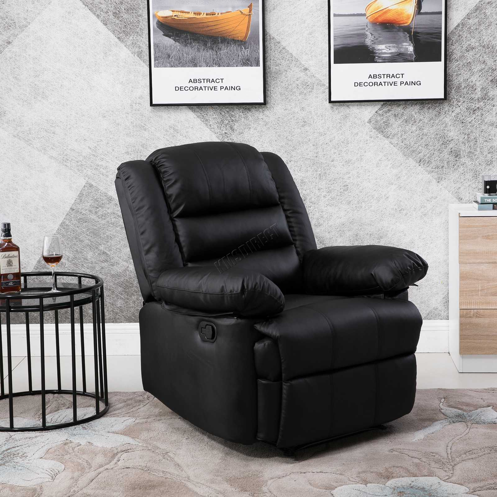 westwood luxus sitzer pu leder kino lehnstuhl sofa stuhl sessel rs04 ebay. Black Bedroom Furniture Sets. Home Design Ideas