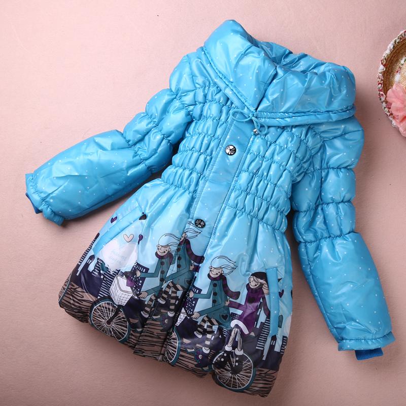 filles enfants chaud hiver manteau habit de neige manteau veste pull 3 12y ebay. Black Bedroom Furniture Sets. Home Design Ideas