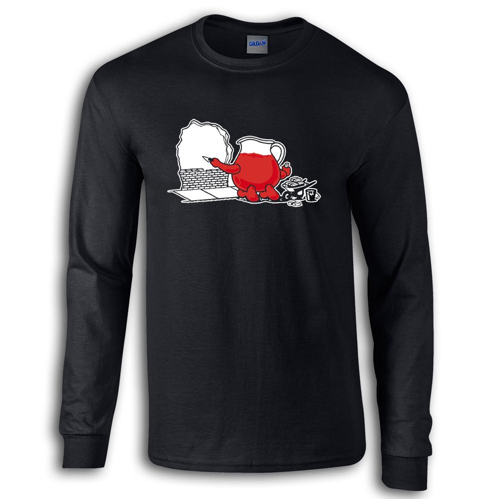 Kool-AIUTO-da-uomo-manica-lunga-Maglietta-T-shirt-Guy-COMUNITA-Service-TS426