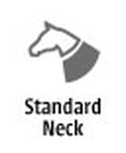 Weatherbeeta - Therapy-Tec Standard Hals Teppich - Weatherbeeta Schwarz/Silber/Rot 109a2d