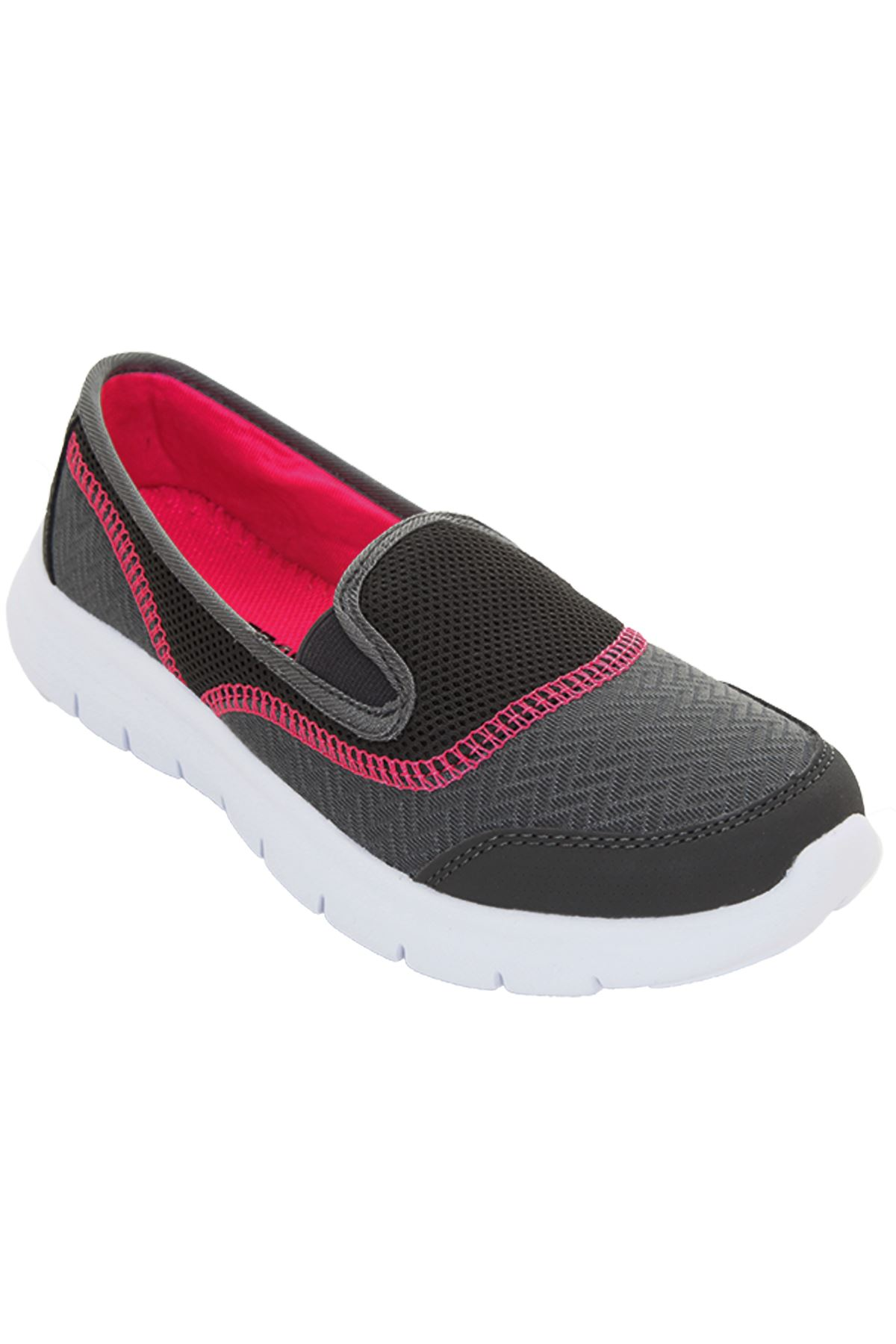 pour femmes l ger chaussures enfiler confortable plat salle de sport marche ebay. Black Bedroom Furniture Sets. Home Design Ideas