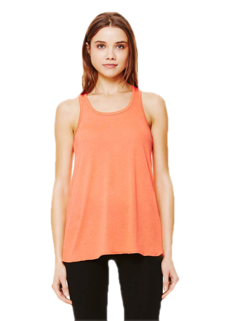 Womens Bella Canvas Flowy Racer Back Tank Top T Shirt 10