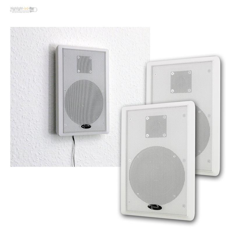 Flat Speaker Stereo Flat Panel Wall Speaker Speakers Slim